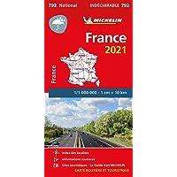"Mapa National Francia ""Alta Resistencia"" 2021: Maps: 792 (Mapas National Michelin)"