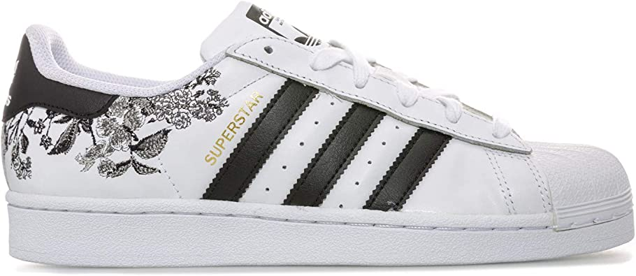 adidas Originals Baskets Superstar Blanc Noir Femme