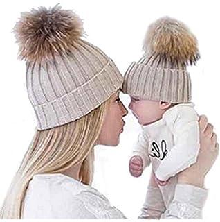 ZARU Pompon Lindo bebé de Invierno para niños Muchachos de Las niñas ... 174fce568da