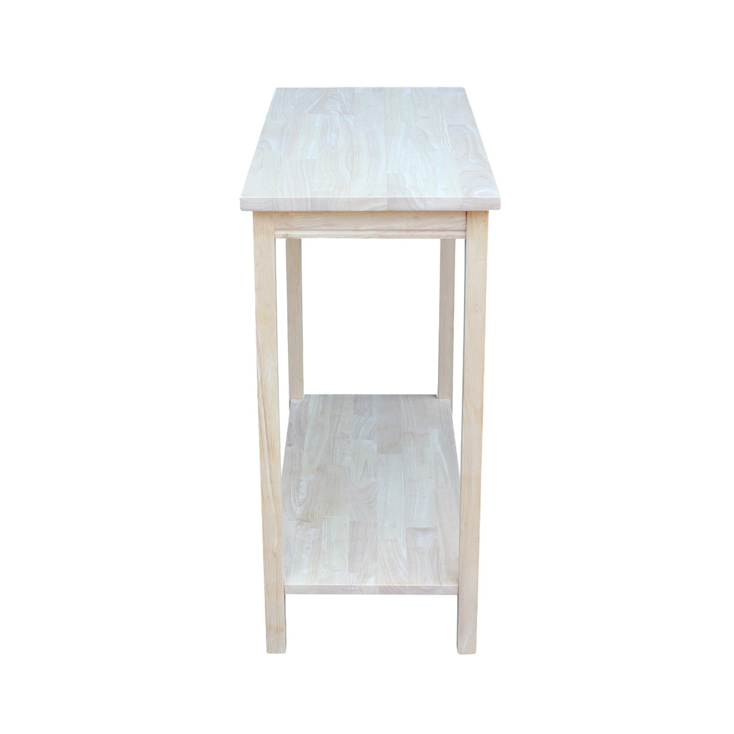 International Concepts OT-43 Accent Table, Unfinished by International Concepts (Image #5)