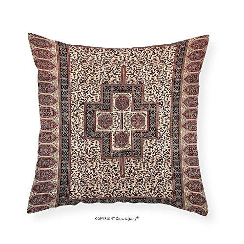 Ecru Crosses (VROSELV Custom Cotton Linen Pillowcase Sunshine Joy Paisley Cross Indian - 60x90 - Hippie Dorm Decor - Beach Sheet - Hanging Art 28