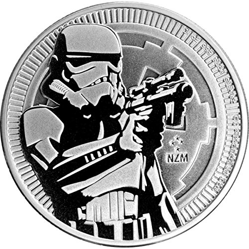 2018 NU 1 oz Niue Silver Star Wars Stormtrooper Coin Dollar Uncirculated Mint