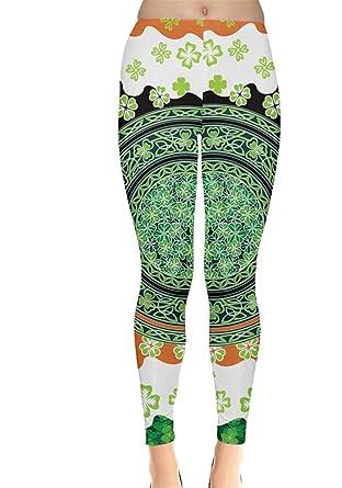 b9457e3a9520c Amazon.com: CowCow Womens Irish Shamrock St Patricks Day Clover ...