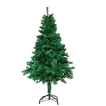 Künstlicher Weihnachtsbaum Außen.Lars360 Künstlicher Weihnachtsbaum Christbaum Tannenbaum Inkl Metallständer Künstliche Tanne Mit Klappsystem Für Aussen Weihnachtsdeko Innen