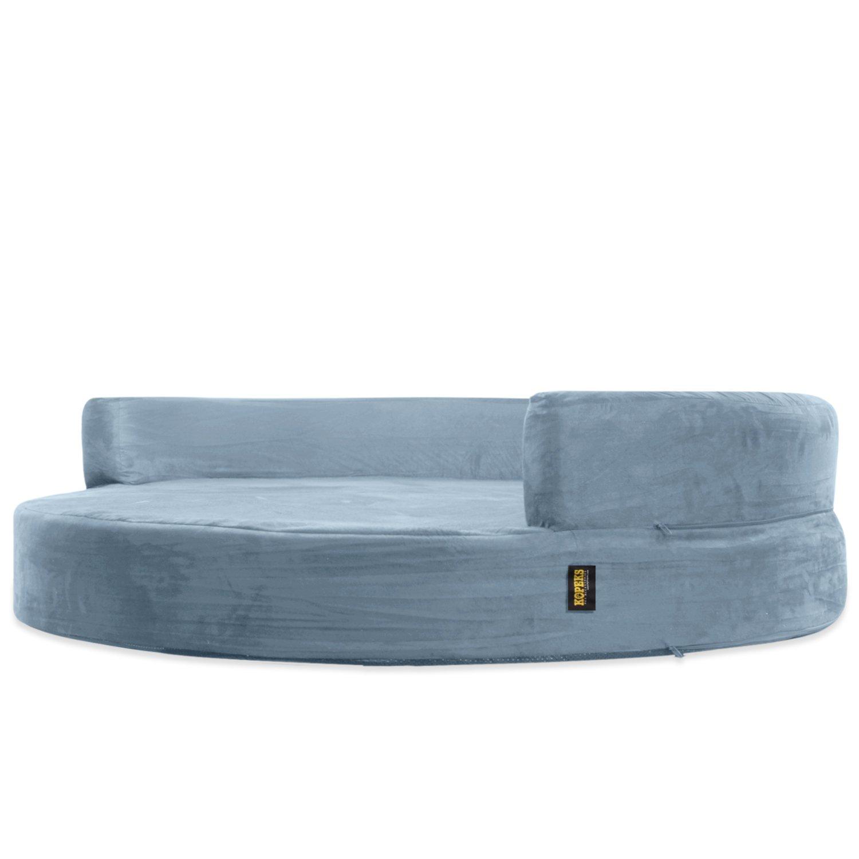 Deluxe Orthopedic Memory Foam Round Sofa Lounge Dog Bed