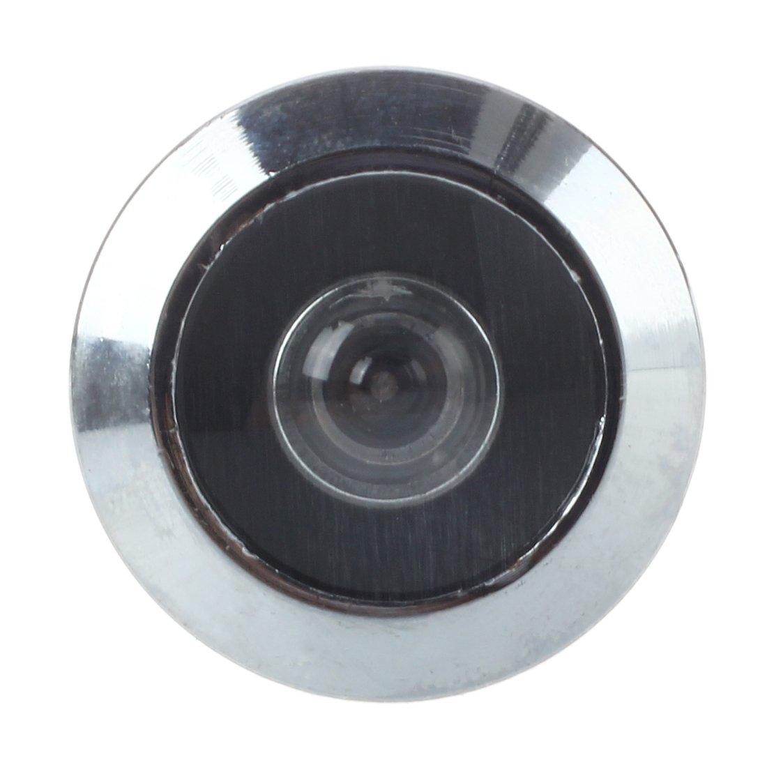 Sonline Metal 200 Grado Espectador Mirilla de Puerta Color Plateado para Casa: Amazon.es: Electrónica