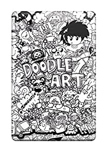 darlene woodman Morgan's Shop 5489288J77149445 Ipad Mini 2 Case, Premium Protective Case With Awesome Look - Doodle Art