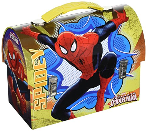 (The Tin Box Carry All Large Marvel Spider Man Workman's Assorted)