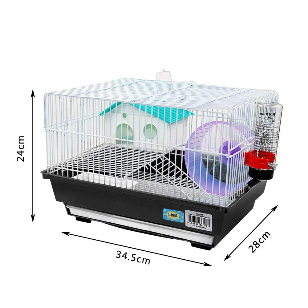 Dizelin Jaula para Hamster 1 Unidad 1000 g: Amazon.es: Productos ...