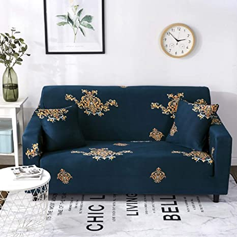 Amazon.com: Lamberia Printed Sofa Cover Stretch Couch Cover ...