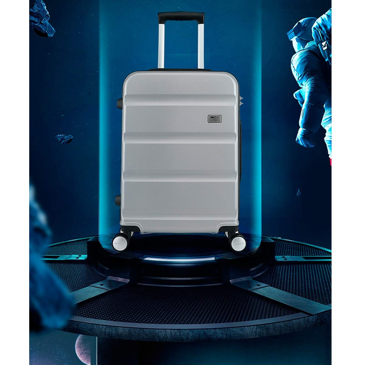 20//24 inch The Latest Style Huijunwenti Soft Travel Bag Trolley case Color : Gray, Size : 20 Simple Simple Travel Organizer