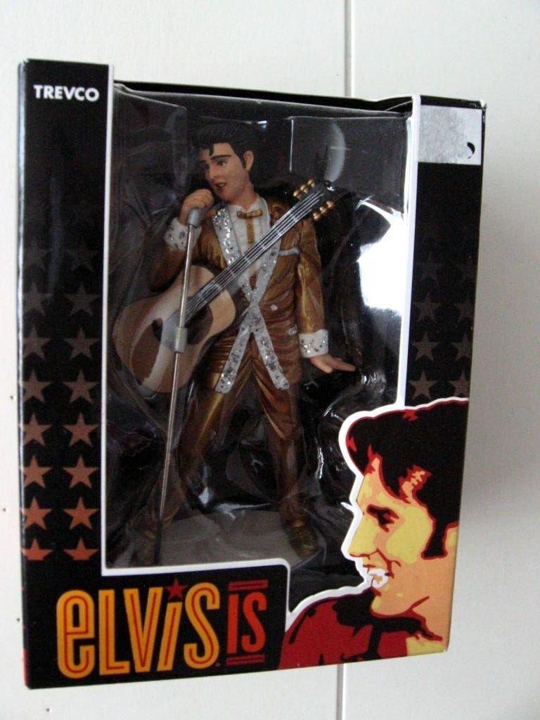 Elvis Presley oro traje las Vegas adorno de Navidad por Trevco ...