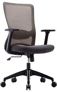 Mc Haus - Adonis Negra Silla escritorio regulable Ergonomica ...