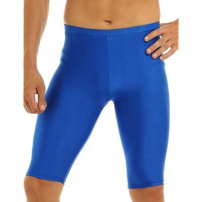 YiZYiF Men's Lycra Spandex Compression Shorts Leggings Baselayer Sports Gym Tights Pants at Amazon Men's Clothing store