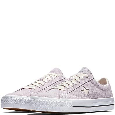 99ef72fa4ce8 Converse Unisex One Star Pro Ox Barely Grape White Gum Skate Shoe 9.5 Men