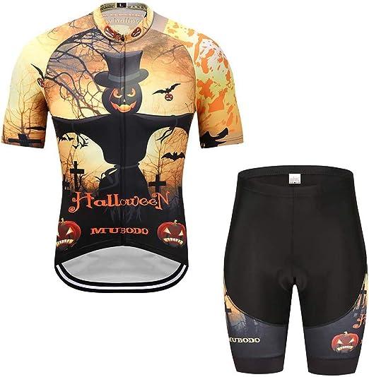 MUBODO Jersey de Ciclismo, Pantalones Cortos de Ciclismo Mujeres ...