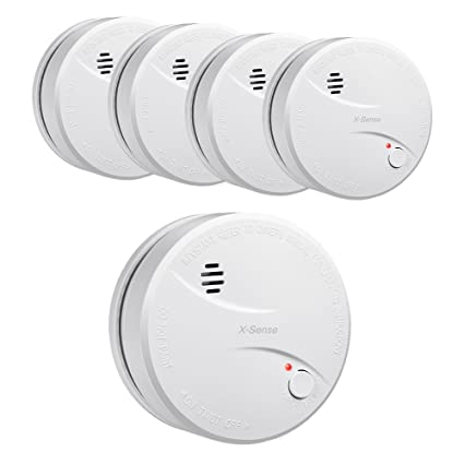 X-Sense DS31 10-Year Extended Battery Life Smoke/Fire Alarm Smoke Detector