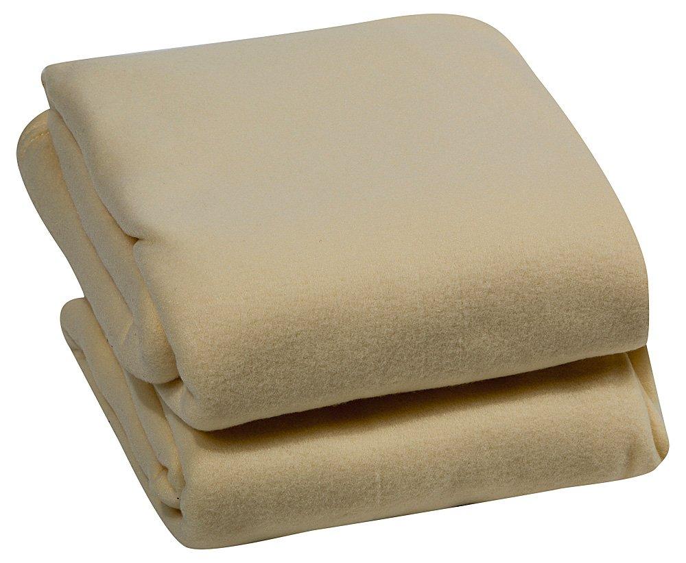 Elaine Karen ROYAL LUXURY Micro Plush FULL Blanket, CREAM