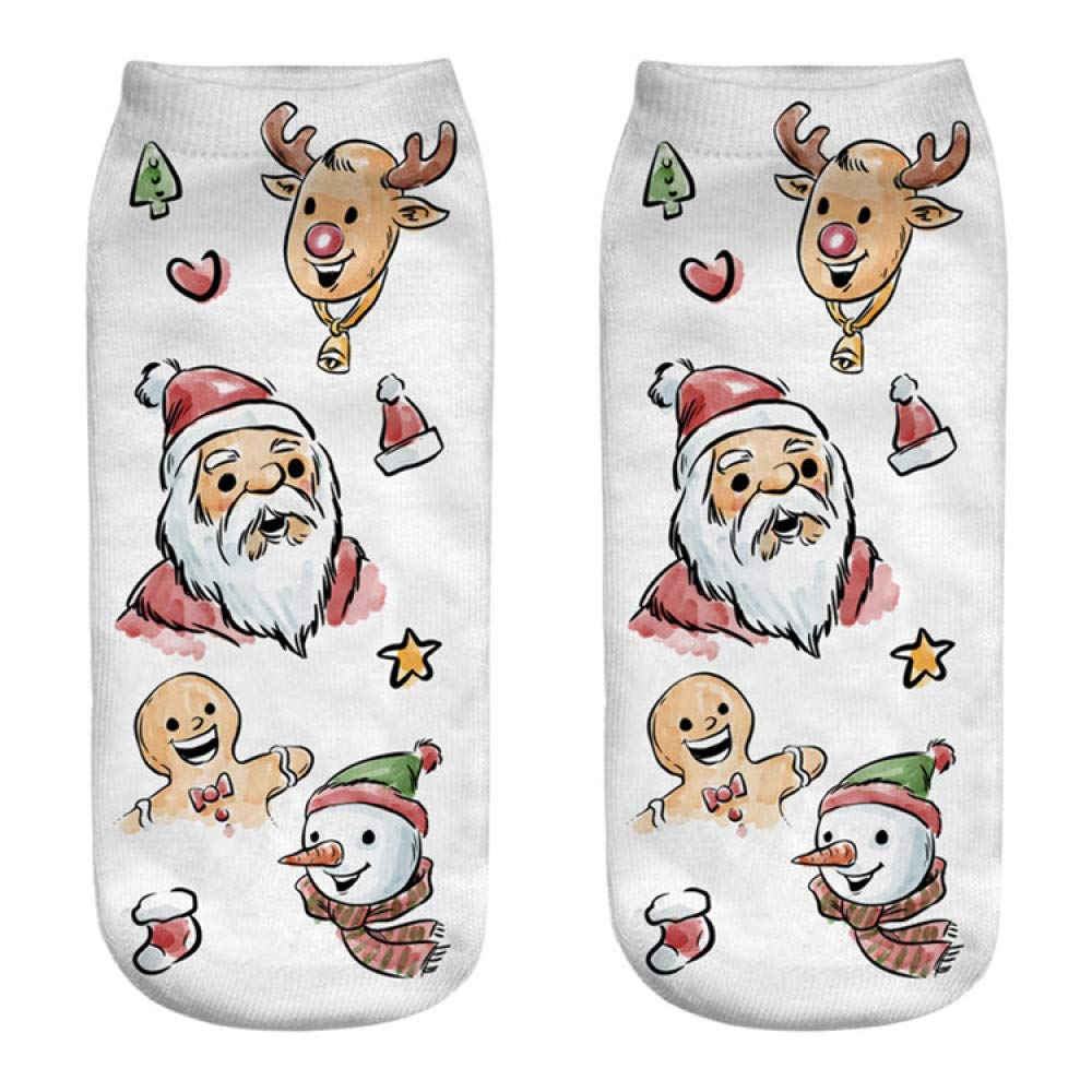 FHCGWZ 5 unids/Set Calcetines Mujeres Calcetines 3D Regalo Kawaii Femme Girls Lindo Emoji: Amazon.es: Deportes y aire libre