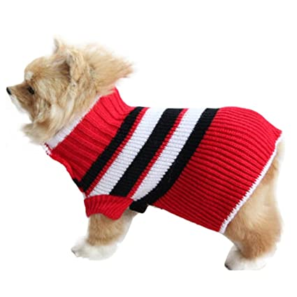 a28b500b2a95 Amazon.com : HP95(TM) Small Dog Cut Sweater, Pet Small Dog Clothes ...
