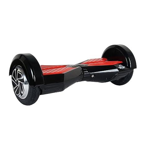 M MEGAWHEELS Scooter-Patinete Eléctrico Hoverboard, 6.5 Pulgadas con Bluetooth - Motor eléctrico 500w, Velocidad 10-12 Km/h.(Violet-Cyan)