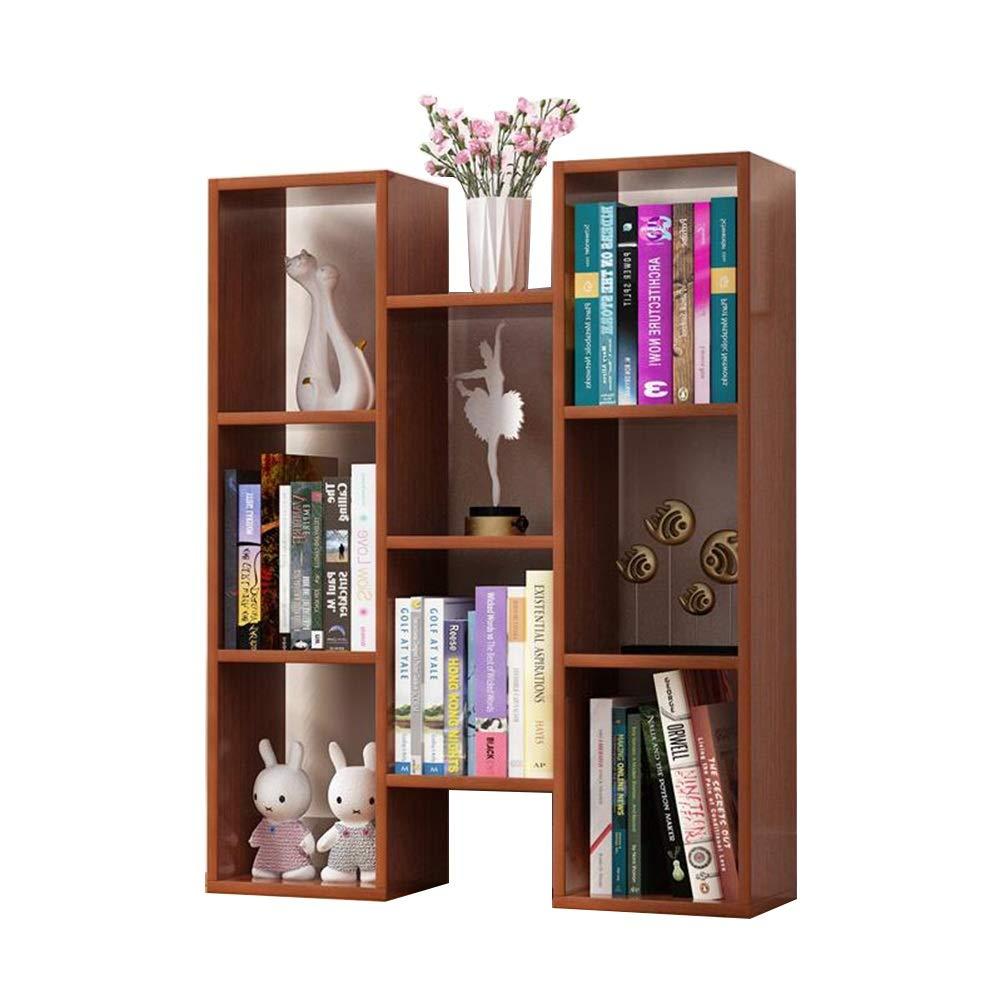 Byx- Bookshelf - Floor-Standing Multi-Function Multi-Shelf Storage Shelf 72.4 X 20 X 90cm (5 Colors to Choose from) -Book Shelves (Color : A)