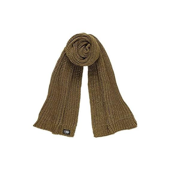 973ac5b9407d Superdry - Echarpe - Femme Vert kaki  Amazon.fr  Vêtements et ...
