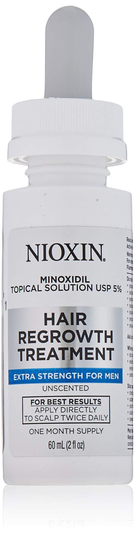 Nioxin Minoxidil Hair Regrowth Treatment Men, 2 oz. by Nioxin