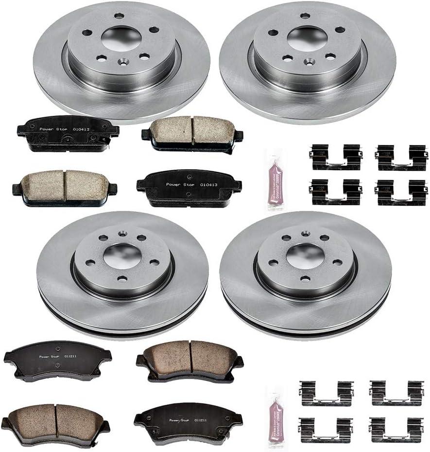 Power Stop KOE5551 Autospecialty Daily Driver OE Brake Kit