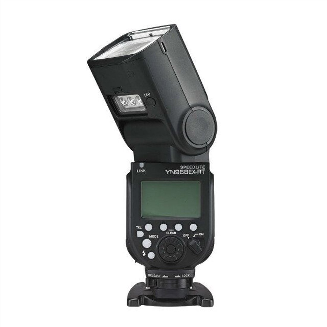 YONGNUO YN-968EX-RT GN60 1/8000s HSS Wireless TTL Speedlite for Canon EOS DSLR Camera, with MicroFiber Cloth