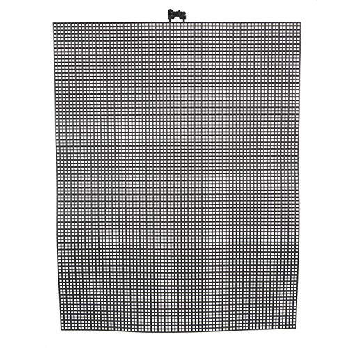 (Bulk Buy: Darice DIY Crafts #7 Mesh Plastic Canvas Black 10.5 x 13.5 (12-Pack) 33900-20)