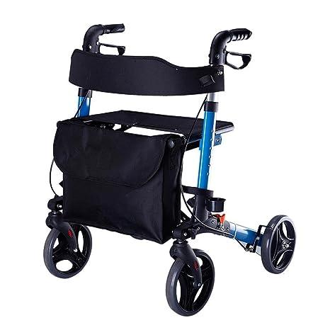 MEYLEE Drive Healthcare YC9102 ligero plegable cuatro ruedas ...