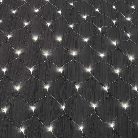 FAPROL Luces De Hadas De Jardín, Navidad Luz Red LED, Decoración De Pared Al Aire Libre, Luz A Prueba De Agua, Conexión En Serie: Amazon.es: Deportes y aire libre