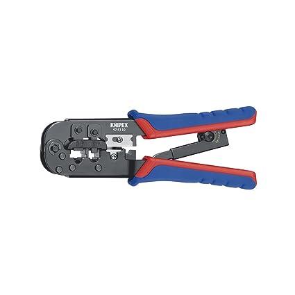 Knipex 7655450005 Alicate de engarce Negro, azul y rojo