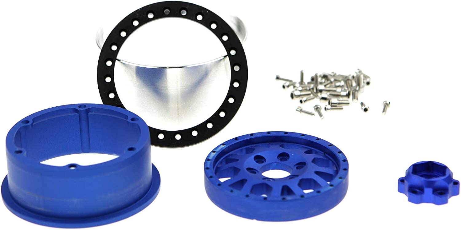 4 Pack GDS Racing 2.2 Inch Alloy Beadlock Wheel Rim 35mm Thickness for RC Model Crawler #109