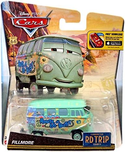 Amazon Com Disney Pixar Cars Walmart Exclusive Route 66 Rd Tr1p Road Trip Fillmore Toys Games