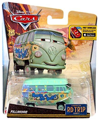 Disney Pixar Cars Walmart Exclusive Route 66 RD TR1P Road Trip Fillmore