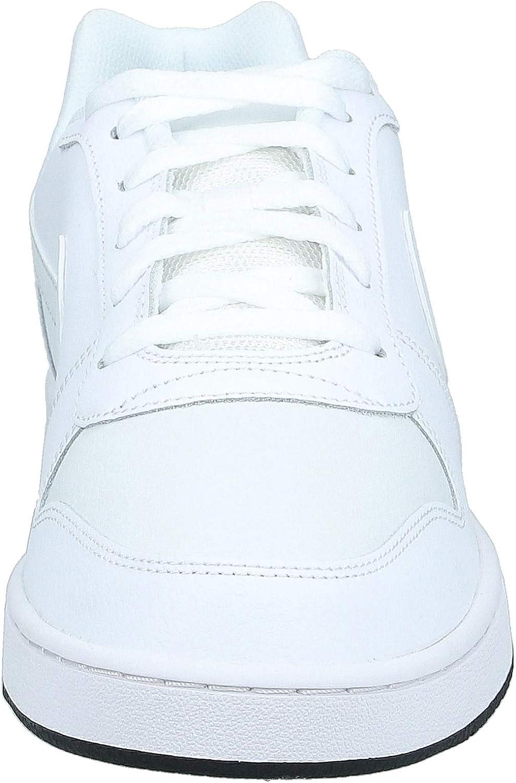 Nike Ebernon Low, Chaussures de Basketball Homme Multicolore White Off White Black 101