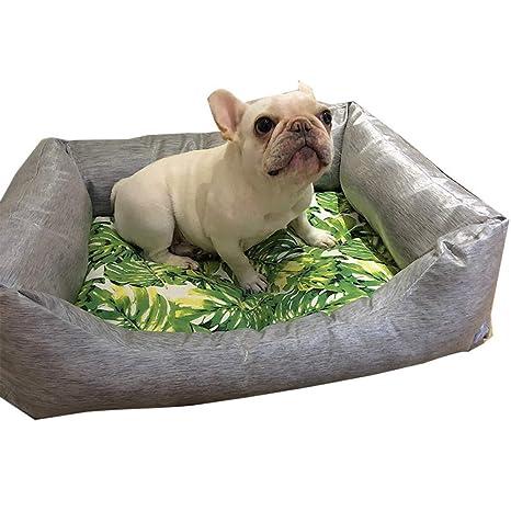 Petxwbed Caseta para Perros Desmontable con Forma De Perrera 55 * 70Cm Gris