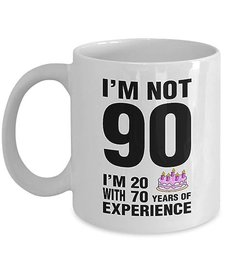 90th Birthday Coffee Mug