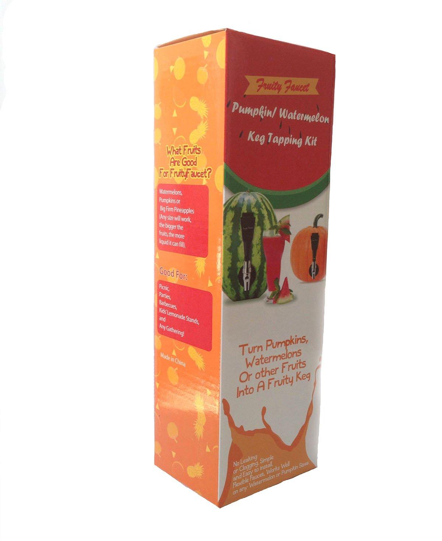 Amazon.com: FruityFaucet Pumpkin Watermelon Keg Tapping Kit- PREMIUM ...