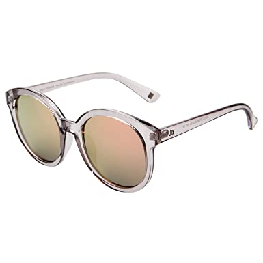 b0a03f8cd5c7 Jimmy Orange designer men women wayfarer round oversized vintage retro  sunglasses J5113 (Silver frame rose gold)  Amazon.co.uk  Clothing