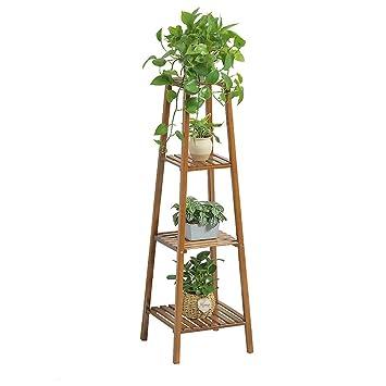 Amazoncom Sandm Flower Stand Plant Display Stand Free Standing