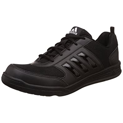 Adidas Boy's Black Mesh Casual Shoes (Size -India 5 / Eu 38 /Length