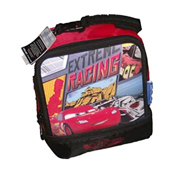 7b5aabf400c Disney Cars 3-D Extreme Racing Soft Lunch Box Insulated 3D Lunch Bag  Lunchbox  Amazon.ca  Home   Kitchen