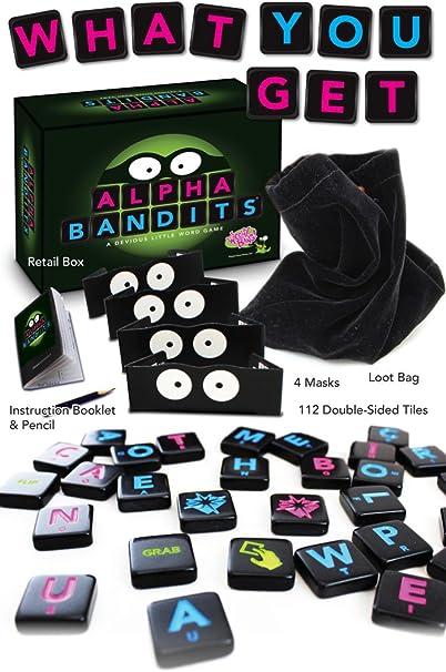 A Devious Little Word Game Wiggity Bang Games WBG 042 Alpha Bandits