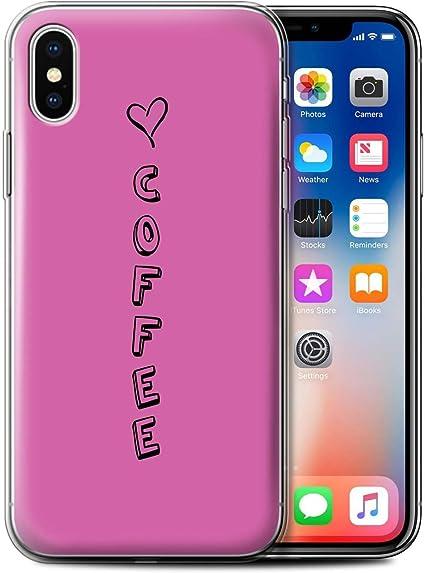 STUFF4 phone Case/Cover/Skin/ipx-gc/corazón XOXO colección Pink ...