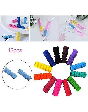 LamicAR 12Pcs Diamond Painting Pen Sleeve Grip Sponge Anti-Slip Case Tool Accessories