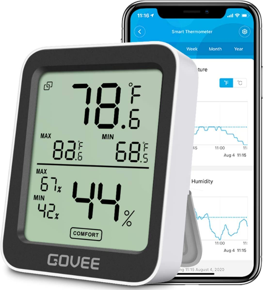 Govee Smart Thermometer with Remote Monito
