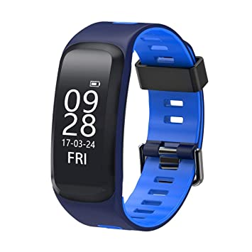 Gugutogo No.1 F4 Smartwatch - Monitor de frecuencia cardíaca ...